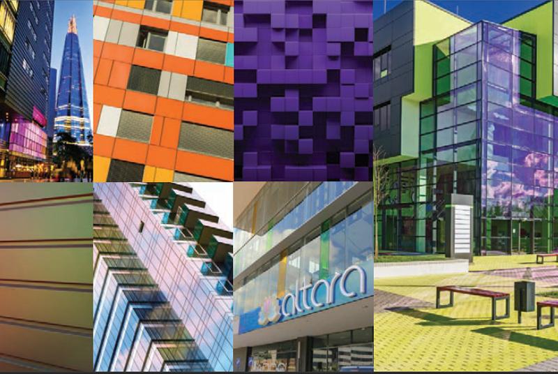 spalvos-architektura